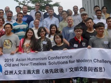 Delegierte bei der Asian Humanism Conference 2016 in Taipei, Taiwan