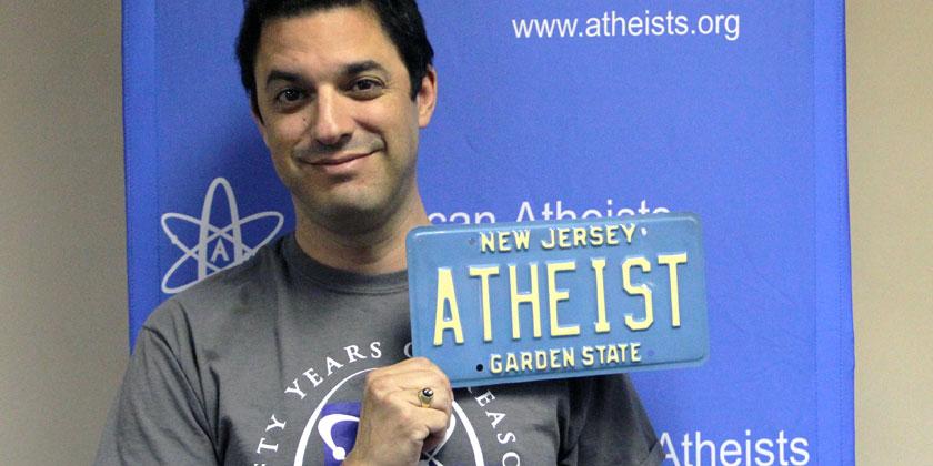 David Silvermann, Präsident der US-Atheists wird von vielen US-Bürgern wohl eher argwöhnisch betrachtet. Foto: © American Atheists