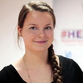 """""""Gerade jetzt ist es wichtig, dass wir uns zeigen"""", sagt Marieke Prien, IHEYO-Vorsitzende aus Niedersachsen."""