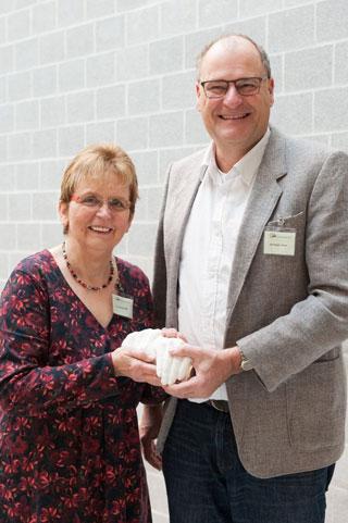 Gabriele Will und Christoph Keiper vom Humanistischen Hospizdienst