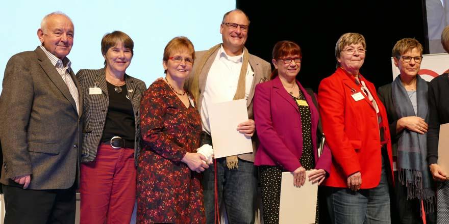 Die Preisträger und Preisträgerinnen des Lotte-Lemke-Preises 2016